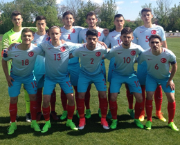 U18s lose to Russia: 5-0