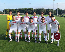 U15s lost against Croatia: 2-1