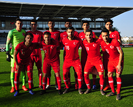 U19s lost against Portugal: 3-0