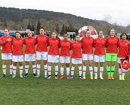 Womens U19s lost against Belgium: 1-0