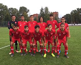 U17s beat North Macedonia: 4-0